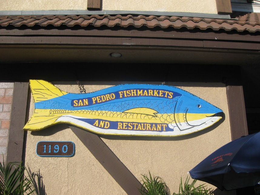 Ports o call in san pedro may be the closest thing to for Port o call san pedro fish market