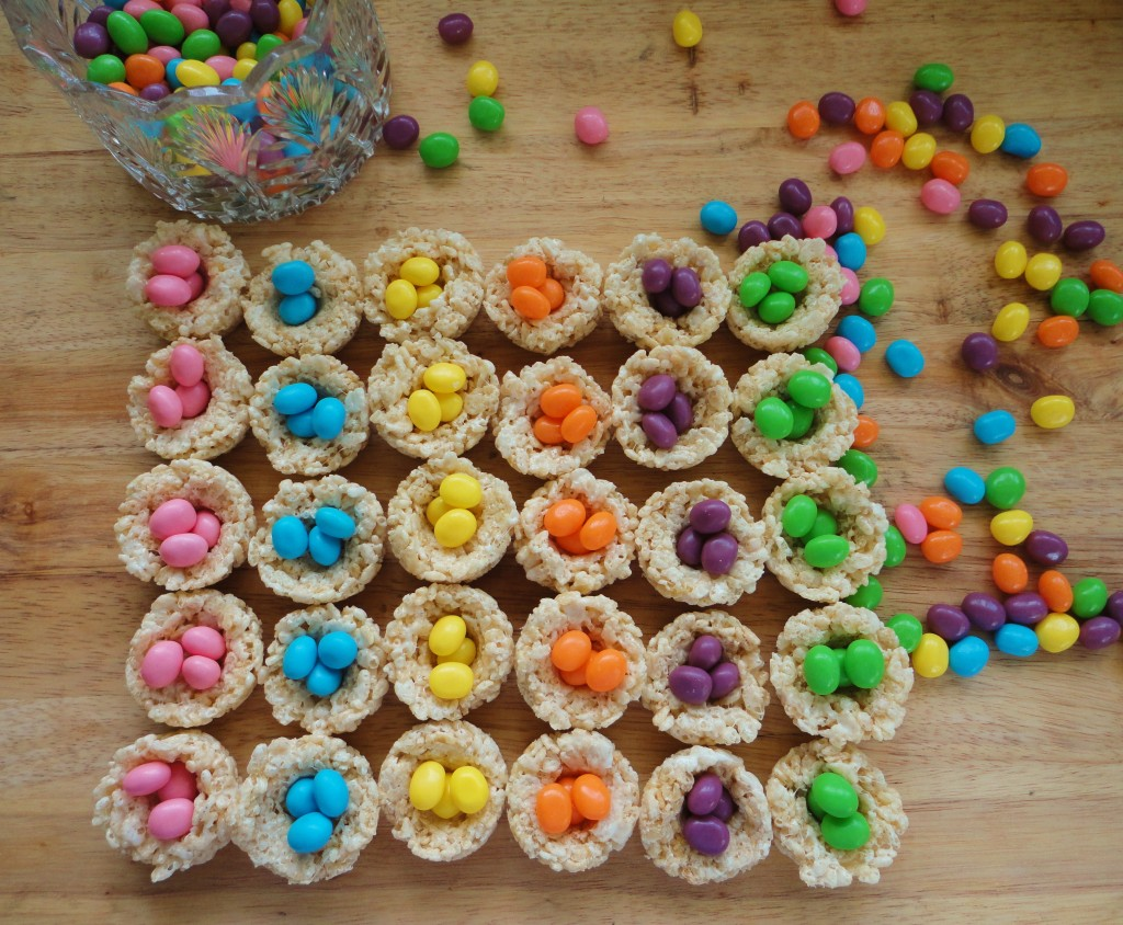 Easter Egg Rice Krispy Nests -- Delicious Fun for the Family - Latino ...