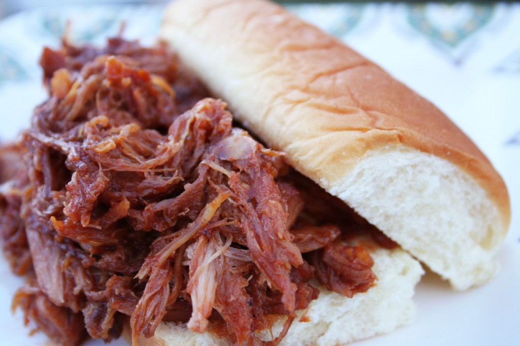 ... Time! Habanero BBQ Pulled Pork Sandwiches with King's Hawaiian Bread