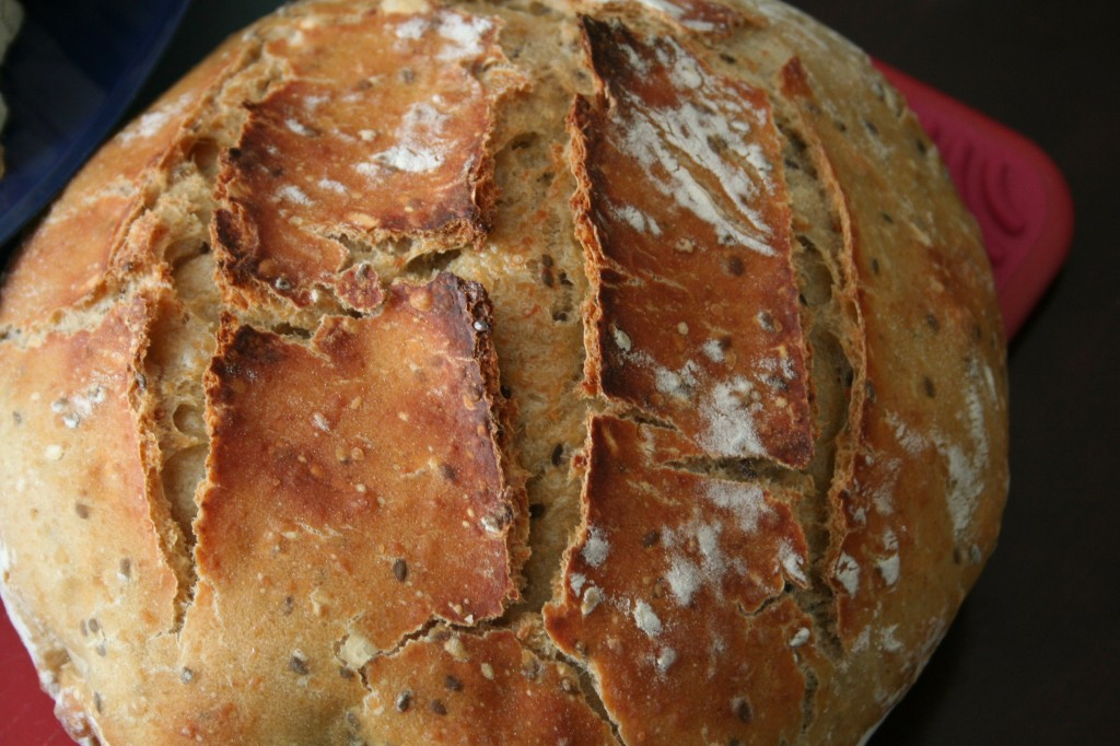 Homemade Flax Seed Bread