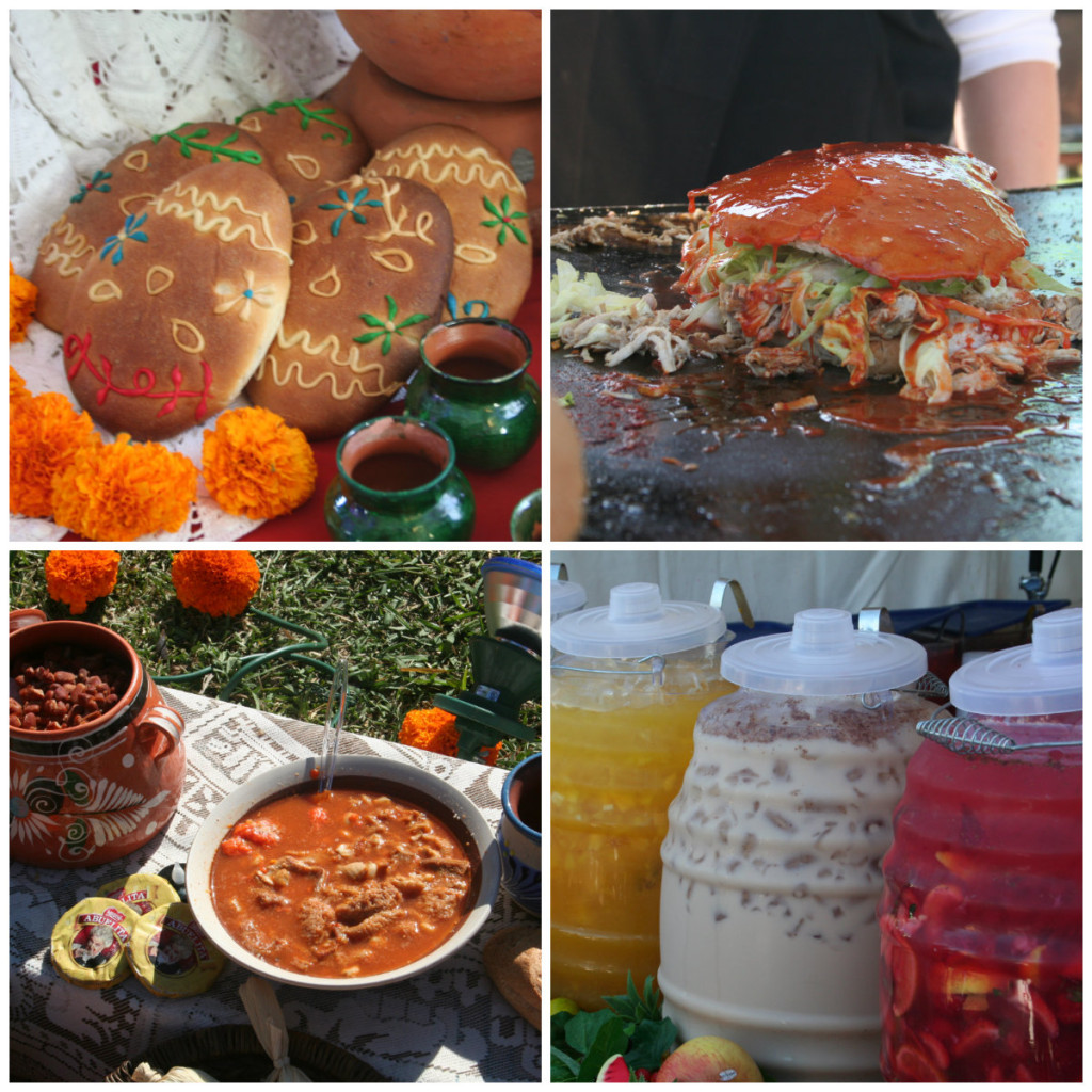 Foods from event Collage